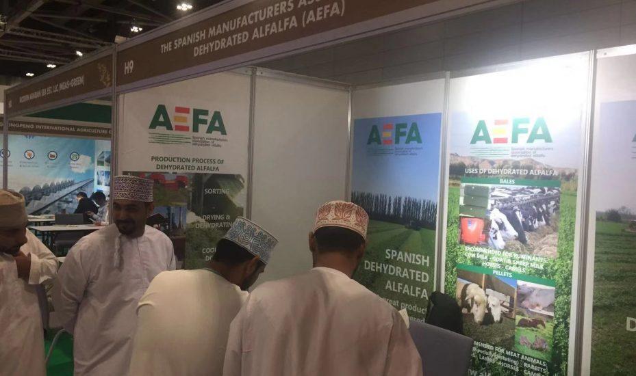 AEFA参加Agro Food Oman展览会