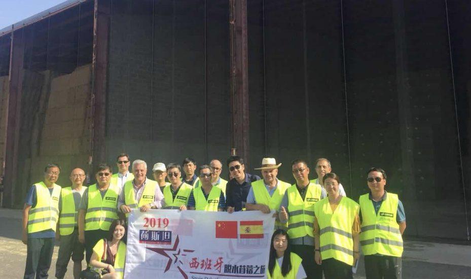 中国代表团西班牙脱水苜蓿之旅圆满结束