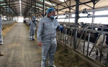 西班牙著名反刍类营养学家在华考察回顾